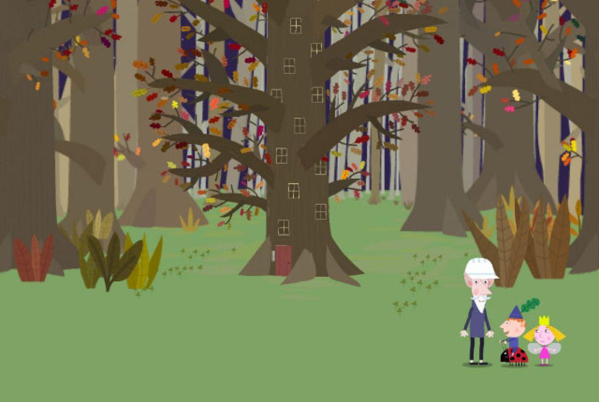 Бен и Холли. Дерево эльфов