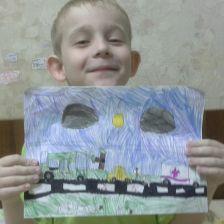 Глеб Евгеньевич Мезенцев в конкурсе «Дорожное движение»