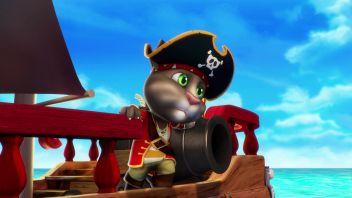 Говорящий Том и друзья. Эпизод 22. Сила пиратов