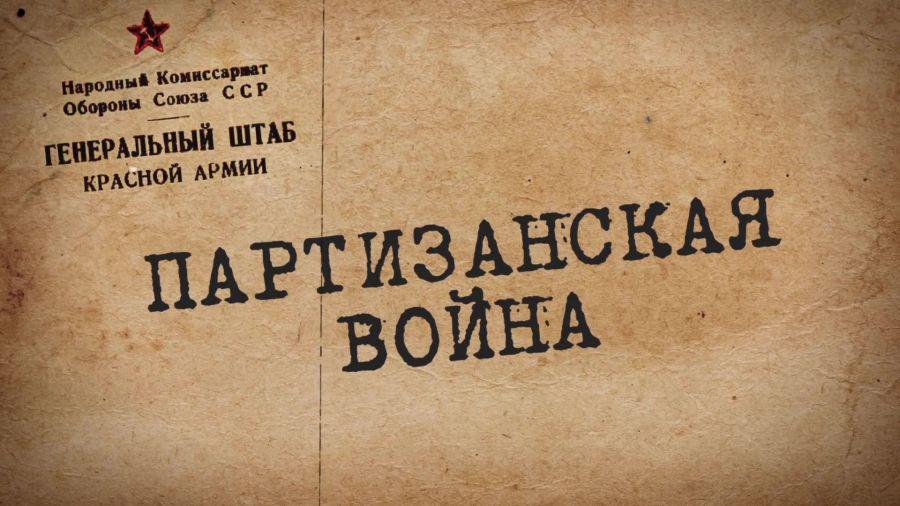 Путь к Великой Победе. Выпуск 12. Партизанская война