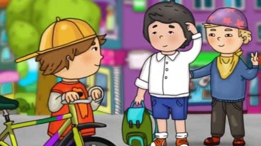 Песенка «Велосипедная дорожка»
