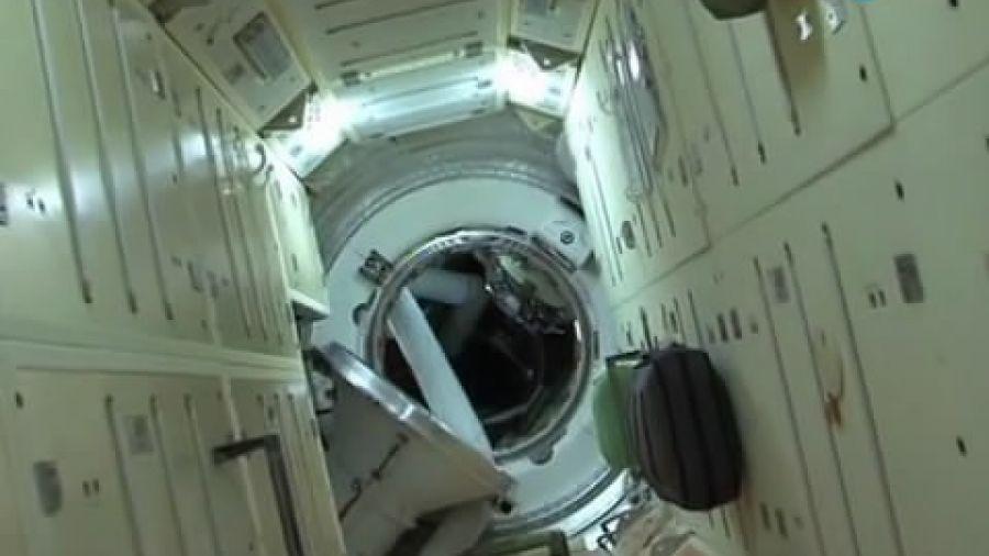 Экскурсия по МКС с Федором Юрчихиным