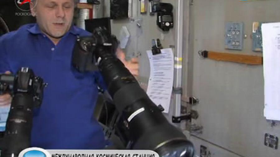 Что необычного можно рассмотреть в бинокль с МКС?