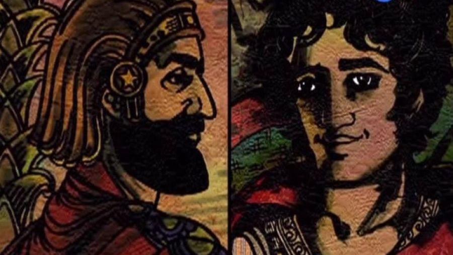 Нарисованные и100рии. Выпуск 7. Кир Великий — Александр Македонский