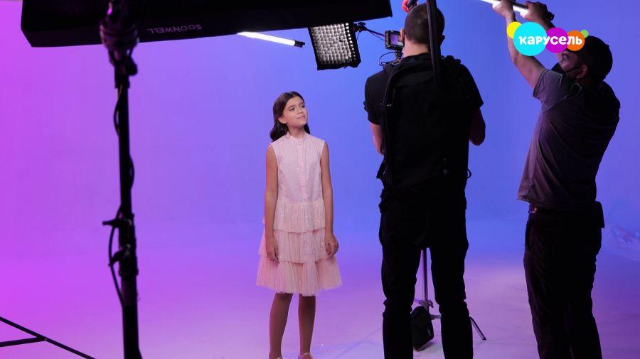 Съёмки клипа на песню «Мой новый день»