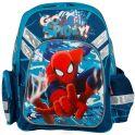 """Рюкзак школьный """"Spider-Man"""", цвет: темно-синий, голубой. SMCB-MT1-9621"""