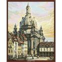 """Набор для рисования по номерам Цветной """"Церковь Богородицы в Дрездене"""", 40 x 50 см"""