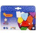 Jovi Мелки восковые фигурные 10 цветов