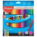 Maped Набор цветных карандашей Colorpeps 24 цвета