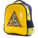 Vittorio Richi Рюкзак цвет темно-синий желтый K07R88803