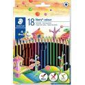 Staedtler Набор цветных карандашей Noris Colour Wopex 18 цветов