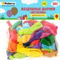 """Воздушные шарики Paterra """"Металлик"""", 30 см, круглые, 100 шт"""
