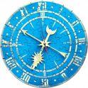 Умная бумага Сборная пазл-игрушка Часы Синие с часовым механизмом