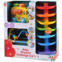 PlayGo Развивающая игрушка Лабиринт автобус-сортер треугольник