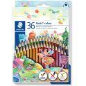 Staedtler Набор цветных карандашей Noris Colour Wopex 36 цветов