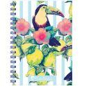 Pierre Cardin Тетрадь Tropic Exotic 80 листов в клетку цвет разноцветный формат A5