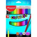 Maped Набор цветных карандашей Color Pep's 18 цветов