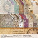 """Набор бумаги для скрапбукинга Рукоделие """"Ретро"""", 20,3 х 20,3 см, 24 листа"""