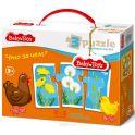 Baby Toys Пазл для малышей Что за чем?