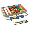 Smile Decor Игра-шнуровка Большой шнуровальный набор