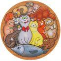 Smile Decor Обучающая игра Головоломка Коты