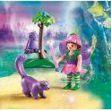 Playmobil Игровой набор Феи Девочка-фея с животными друзьями