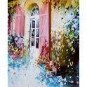 "Картина по номерам Школа талантов ""Цветы у окна"", 2467724, 30 х 40 см"
