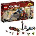 LEGO Ninjago 70667 Конструктор ЛЕГО Ниндзяго Мотоцикл-клинок Кая и снегоход Зейна