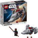 LEGO Star Wars 75224 Конструктор ЛЕГО Звездные войны Микрофайтеры: Корабль-лазутчик ситхов