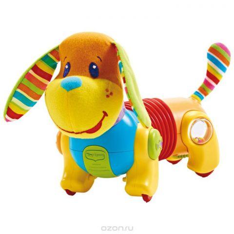 """Развивающая игрушка Tiny Love """"Догони меня: Собачка Фрэд"""", цвет: желтый, оранжевый, голубой, красный"""