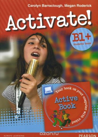 Activate! B1+: Student's Book (+ DVD-ROM)