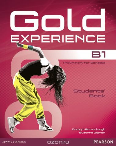 Gold Experience B1: Students' Book (+ DVD-ROM)