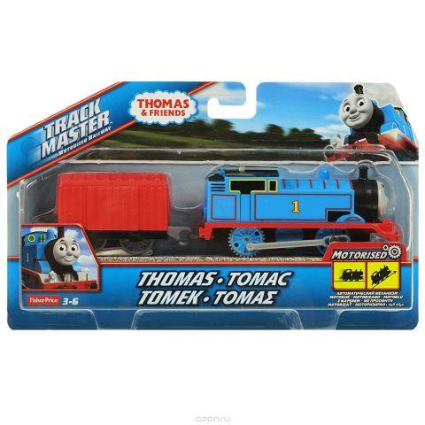Thomas&Friends Базовый паровозик Томас, цвет: синий, красный