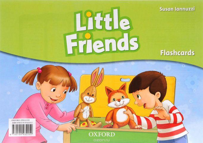 Little Friends: Flashcards (набор из 21 карточки)