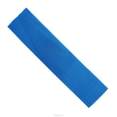 """Крепированная бумага """"Hatber"""", флюоресцентная, цвет: синий, 5 см х 25 см"""