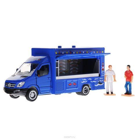 Siku Мобильный магазин-фургон Mercedes Sprinter