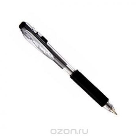 Шар.ручка авт. черный стержень 0.7мм, в блистере