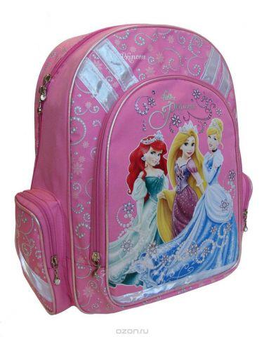 """Рюкзак детский Disney """"Princess"""", цвет: розовый. PRBB-RT2-836"""