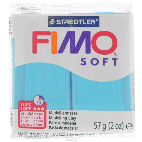 """Полимерная глина Fimo """"Soft"""", цвет: мята (39), 57 г"""