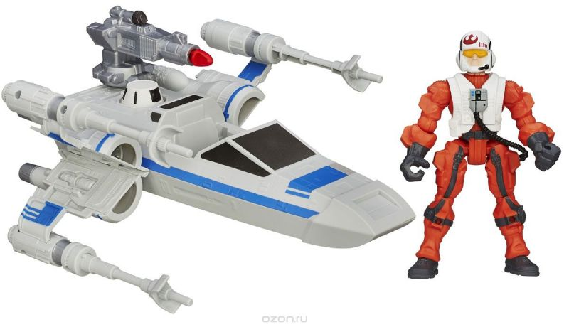 Star Wars Игровой набор Resistance X-Wing & Resistance Pilot
