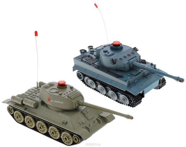 ABtoys Набор танков на радиоуправлении Танковый бой Т34 vs Тигр