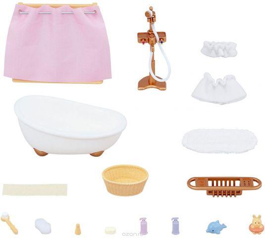 Sylvanian Families Игровой набор Ванная комната с душем