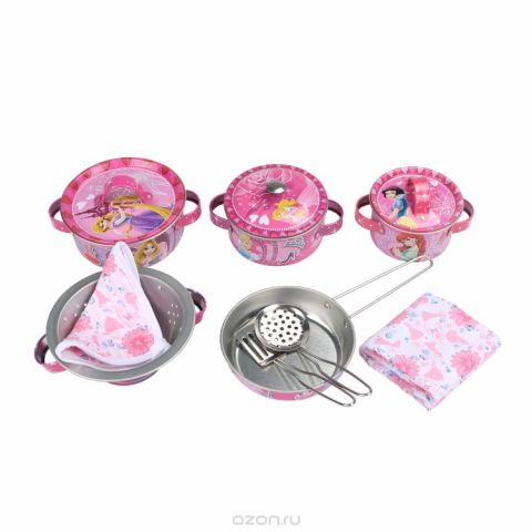 Disney Игрушечный набор посуды Королевский ужин