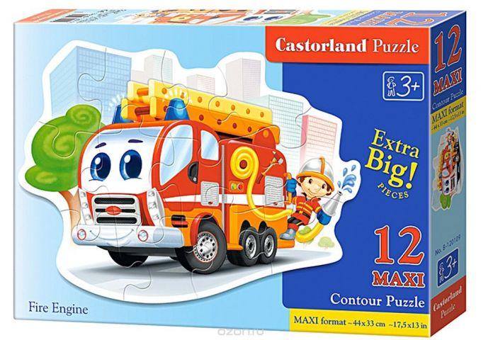 Castorland Пазл Пожарная машина