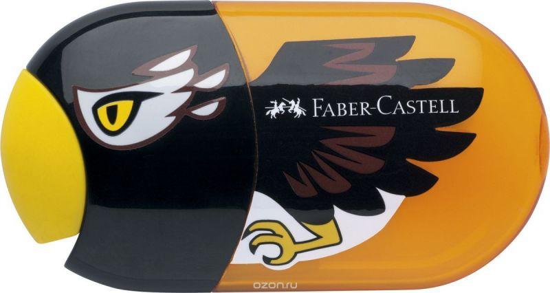 Faber-Castell Точилка с контейнером и ластиком Орел