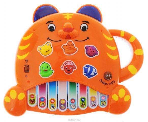 Mommy Love Развивающая игрушка Пианино Тигренок