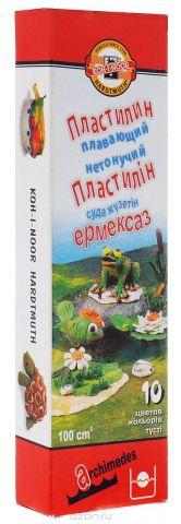 Koh-i-Noor Пластилин Архимед 10 цветов