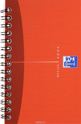 Oxford Тетрадь Essentials 50 листов в клетку цвет красный