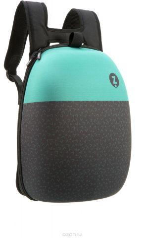 Zipit Рюкзак Shell Backpacks цвет черный бирюзовый