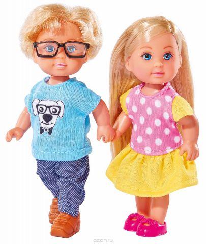 Simba Набор кукол Еви и Тимми